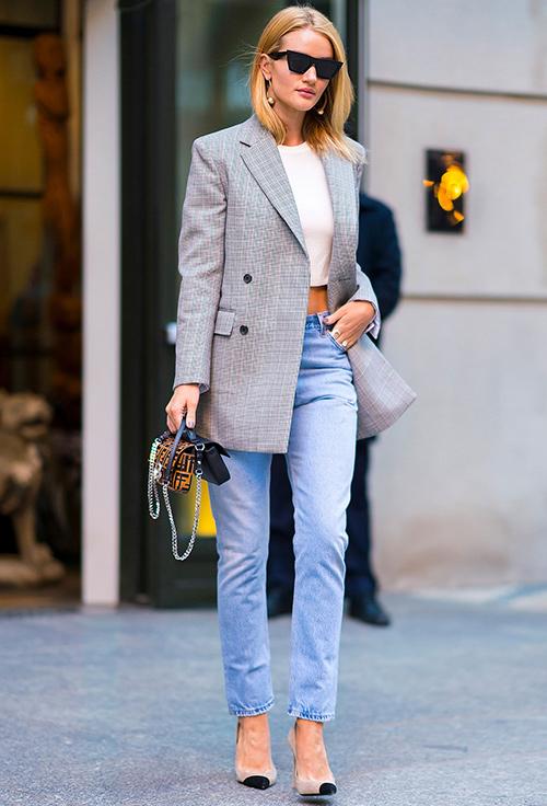 moda elegante mujer