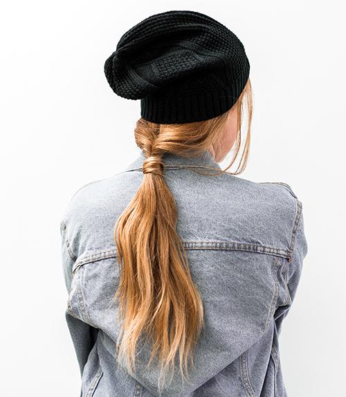 peinados para sombreros