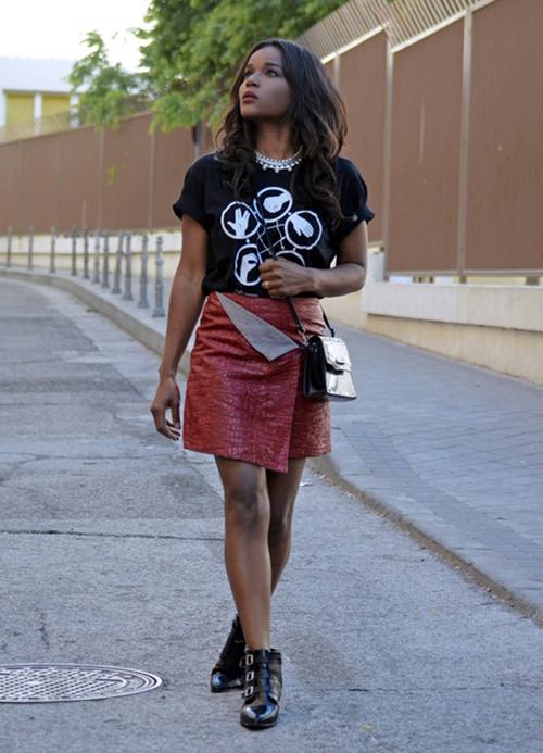 cómo vestir para un concierto de rock (mujeres)