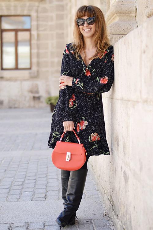 con que zapatos combinar un vestido rojo