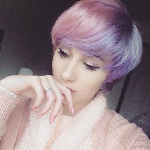 pelo bicolor corto