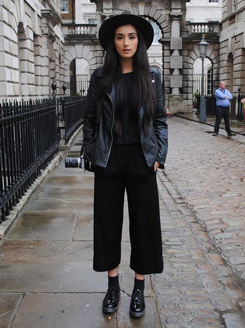 pantalon negro como combinar
