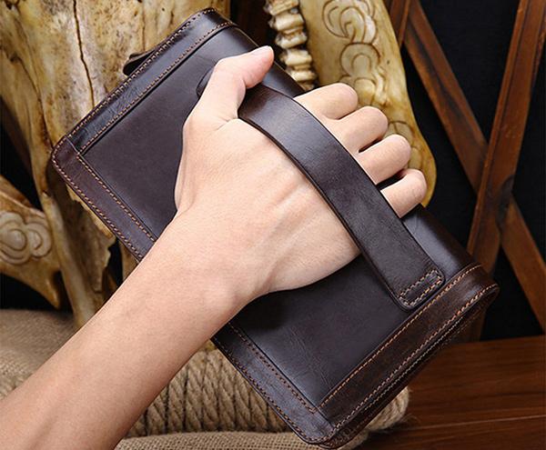 clutch cartera de mano