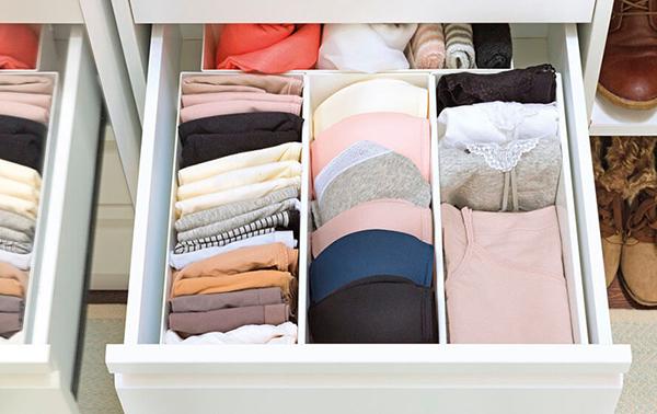 ideas para almacenar ropa