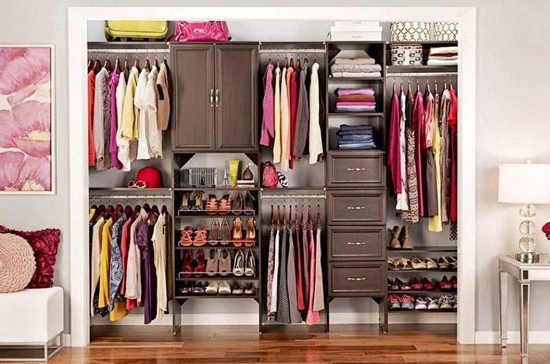 ordenar ropa armario pequeño