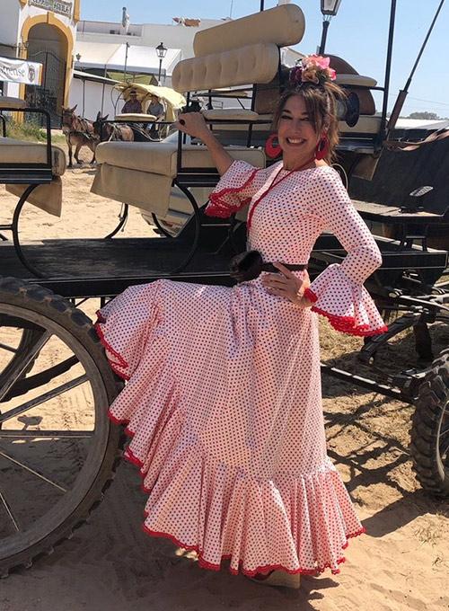 vestirse de flamenca sin traje
