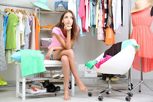 como organizar un armario pequeño