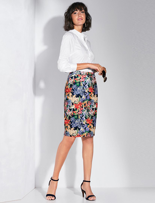 patrones de faldas modernas
