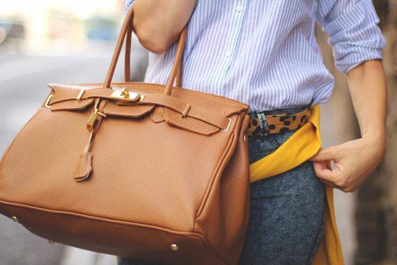 tendencias en bolsos de piel