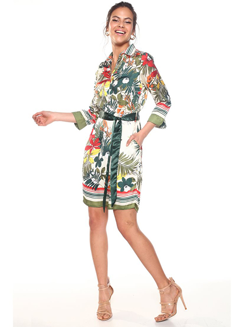 vestidos de flores de moda