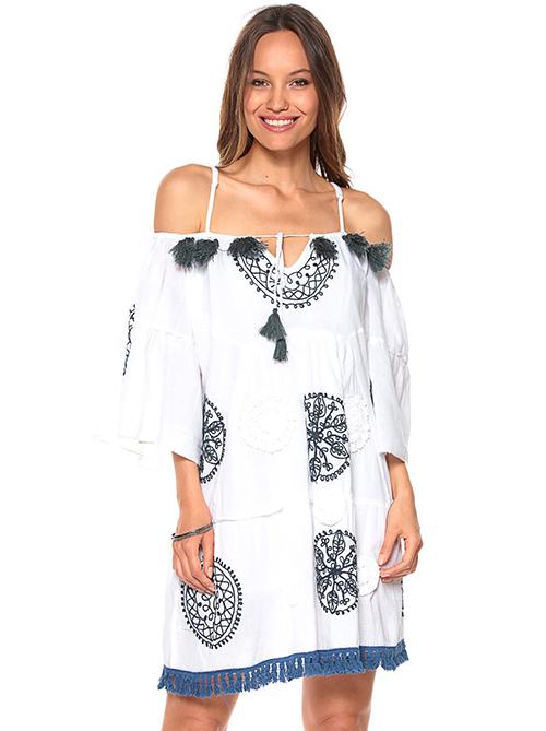 vestidos estampados para verano