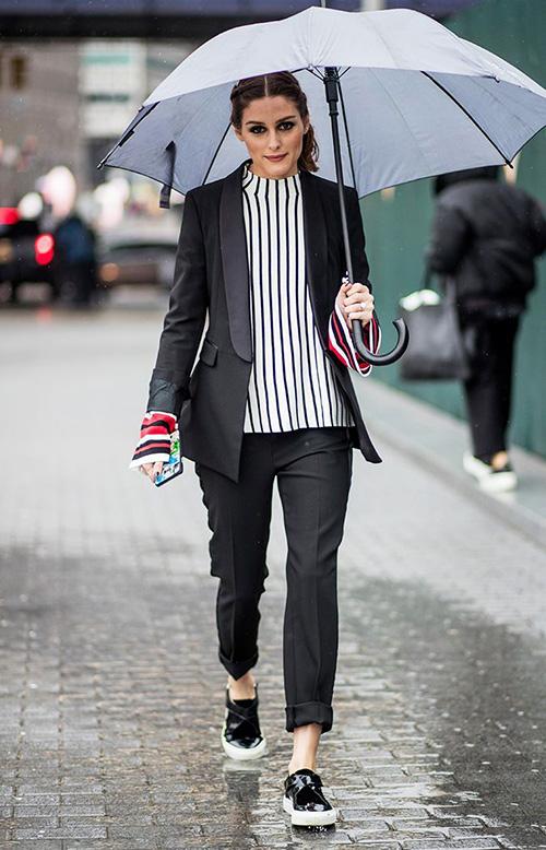 cómo vestir un día de lluvia