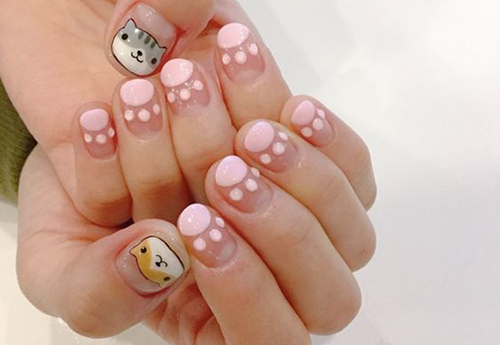 cat nail polish