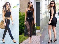 consejos para vestir de negro en verano