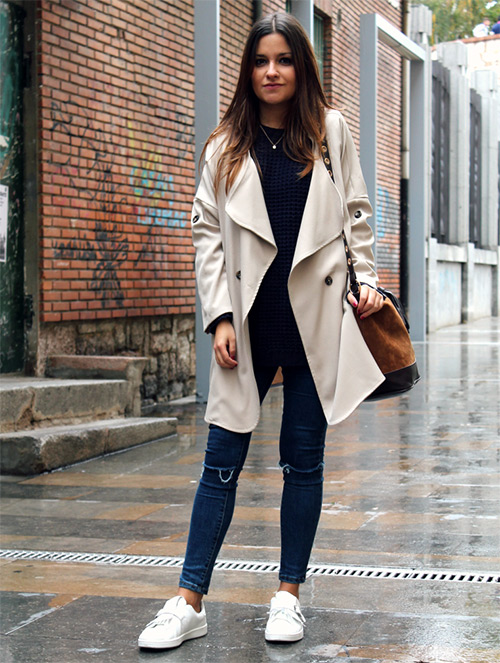 outfit invierno lluvia