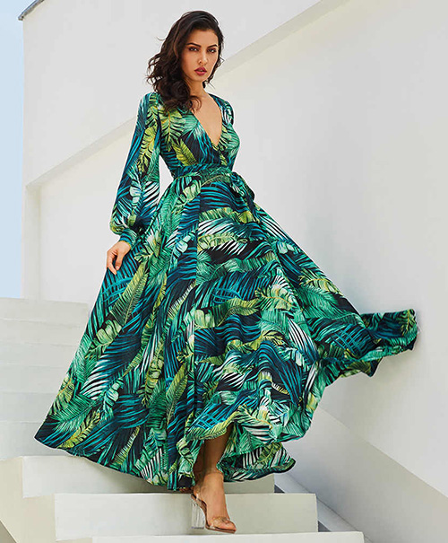 ropa para fiesta hawaiana mujer