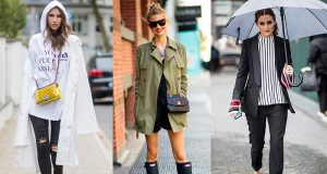 ropa para la lluvia