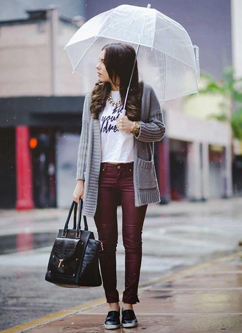 zapatos para la lluvia