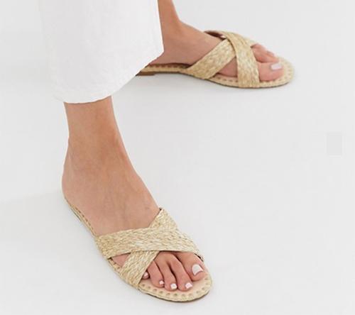 sandalias de moda tacon medio