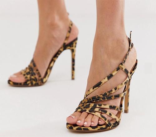 sandalias mujer tacon medio