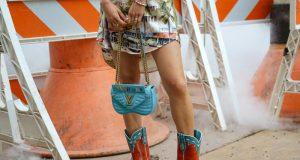 combinar botas vaqueras de mujer