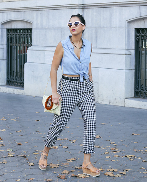 cropped jeans significado