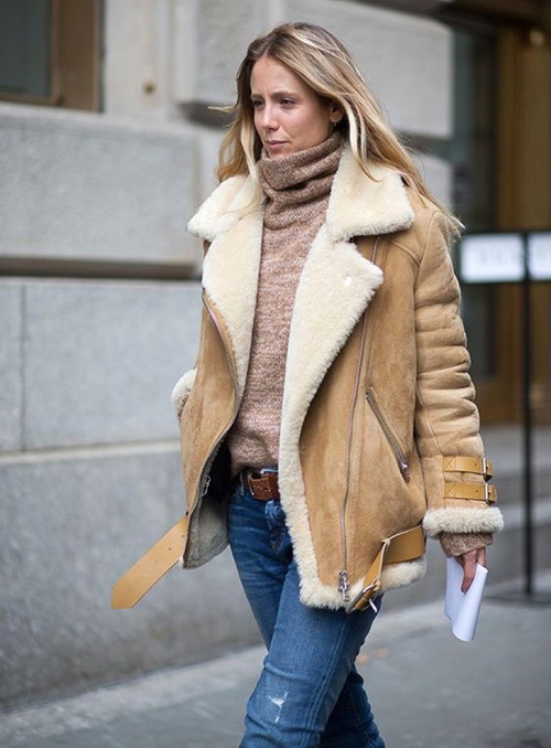 estilos de abrigos para mujer
