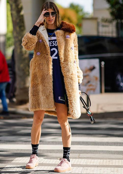chaqueta pelo sintetico mujer