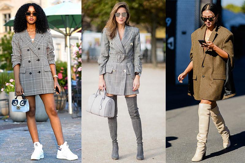 como llevar un blazer mujer
