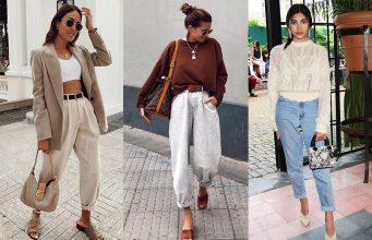 pantalón slouchy H&M