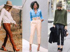 pantalon de cuero como combinar