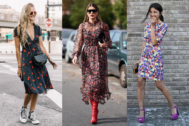 vestidos de flores bonitos