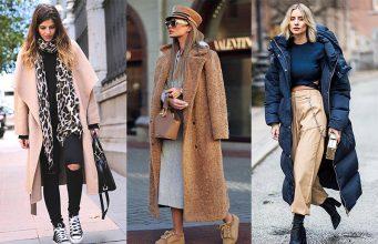 abrigo oversize mujer