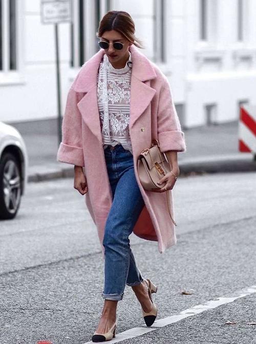 combinar un abrigo oversize