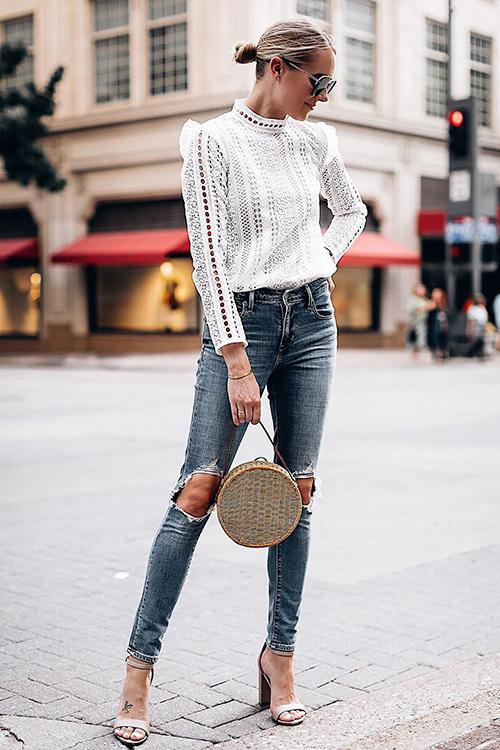 camisas largas de mujer