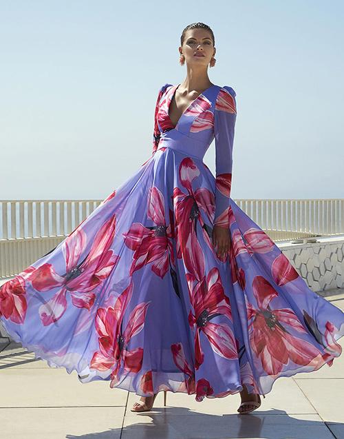 vestido largo informal