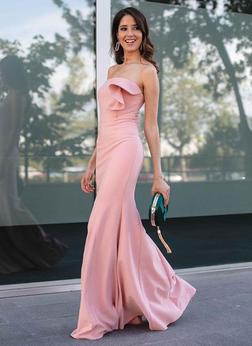vestido mujer manga larga
