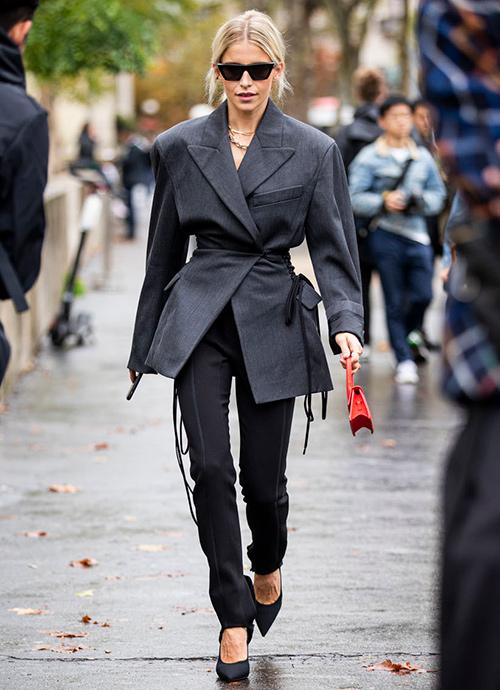 chaqueta oversized