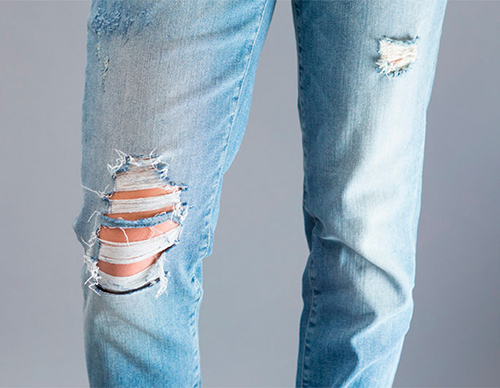 como hacer un pantalon vaquero