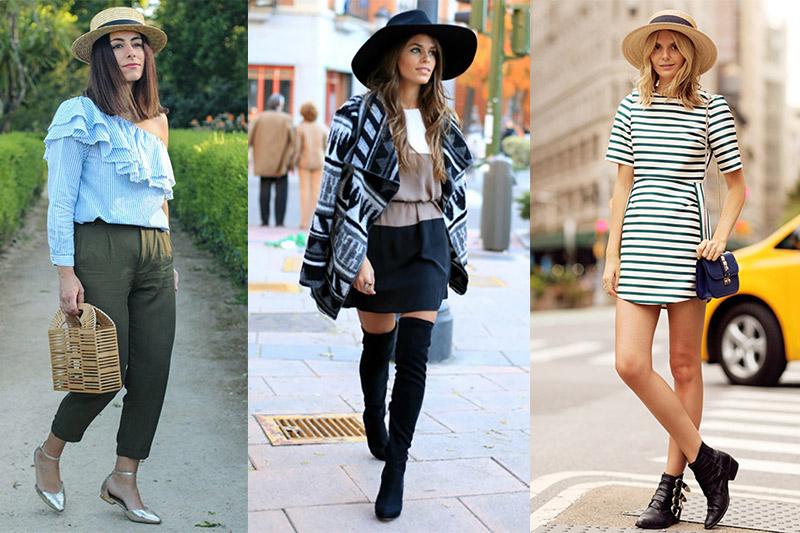 cómo llevar sombreros de mujer