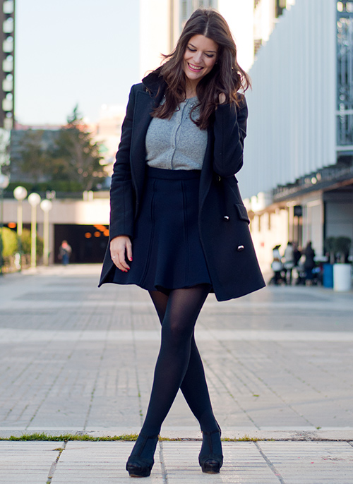como vestir en invierno mujer