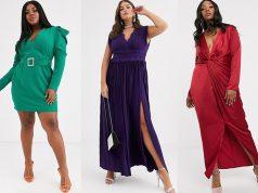 trajes de noche para señoras