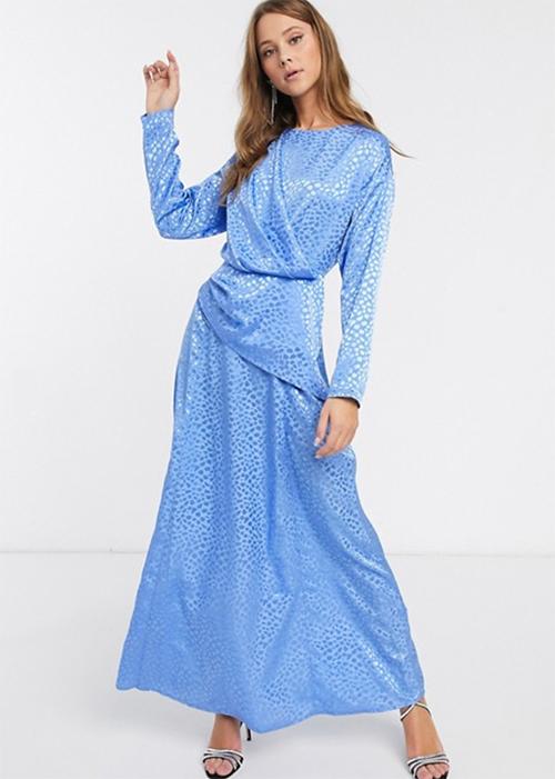 vestidos de gala largos manga larga