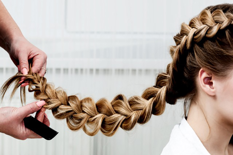 trenzas pelo largo