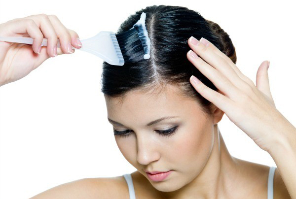 como teñir el cabello de blanco