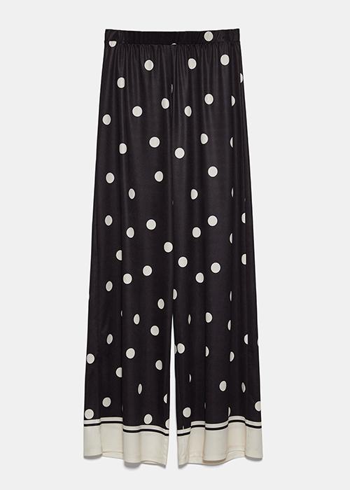 pantalon ancho mujer