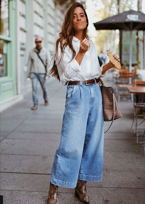 jeans recortados