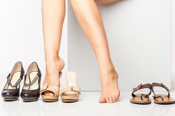 talla zapatos de tacón