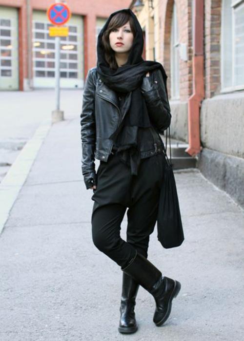 estilo de vestir gótico