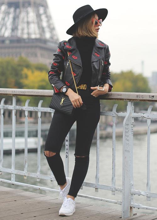 ideas para vestir de negro
